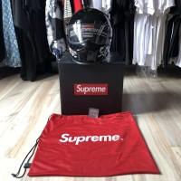 FW16 Supreme x Simpson Helmet Black / Helm Supreme Perfect Replica 1:1