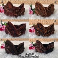 Pakaian adat bali topi udeng batik dewasa khas bali