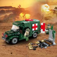 Lego Army War Military Ambullance Mobil ambulan militer