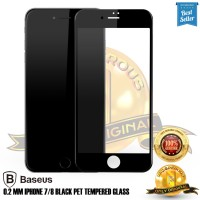 Tempered glass iPhone 7 / 8 Baseus Black tempered glass