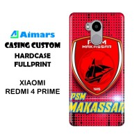 Custom Case Xiaomi Redmi 4 Hardcase Prime Desain Bebas