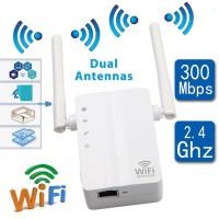 Router Repeater Penguat Sinyal Wifi Wireless Jarak Jauh untuk Rumah Ka
