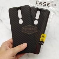 Oppo F11 Pro Luxury CARBON FIBER SoftCase Soft Case Casing HP Oppo