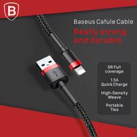 BASEUS KABEL LIGHTNING 2M USB CABLE DATA 2 METER CHARGER IPHONE IPAD
