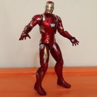 IRONMAN Action Figure Iron Man Mainan Super Hero Marvel