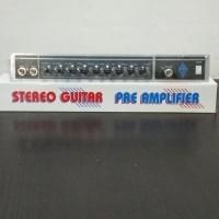 KIT MODUL PRE AMPLIFIER GUITAR / GITAR STEREO
