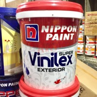 NIPPON PAINT VINILEX SUPER EXTERIOR 25KG - BRIGHT WHITE / CAT TEMBOK