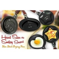 E32 FRYPAN MINI NON STICK FRYING FRY PAN WAJAN KARAKTER MOTIF