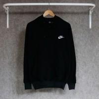 sweater nike baster memakai sleting original quality bahan flecee