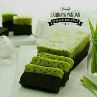 Kue Brownies Amanda Sarikaya Pandan