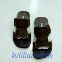 sandal pria kulit sapi Asli wh05