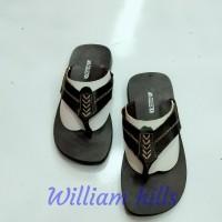 sandal pria kulit sapi Asli wh07