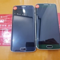 Samsung S6 Edge 64gb single mlus lengkap.no minus