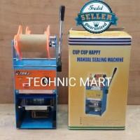 Mesin Cup Sealer Eton Et-D8/Press Gelas Eton Manual Et-D8 Item Baru