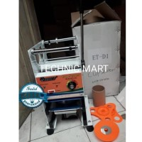 Mesin Cup Sealer Eton Et-D1 (Press Gelas 12-22Oz) Barang Murah