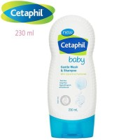 Ter Hot Cetaphil Gentle Baby Wash And Shampoo 230 Ml - Sabun Dan Sampo