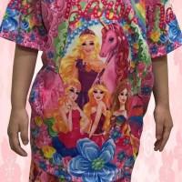 Termurah Baju Celana Setelan Anak Perempuan Barbie |1 Sta 6L