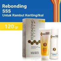 HOT SALE Makarizo Rebonding System Super Gold (SG) Pelurus Rambut