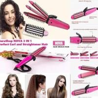 HOT SALE Catokan rambut bisa lurus / keriting pelurus rambut ORIGINAL