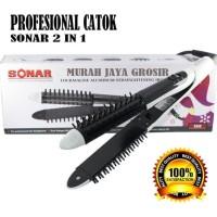 HOT SALE Catok rambut Sonar 999B Catokan 2 in 1 Hair Curler and