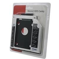 Hardisk caddy for laptop 9mm slim 9 mm tipis SSD HDD Cady Slot
