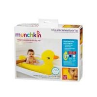ORIGINAL MUNCHKIN Inflatable Duck Tub Bak Mandi Bayi Tiup Baby Bathtub