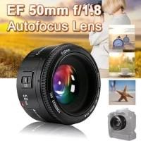Lensa Fix Yongnuo F1.8 50MM Canon