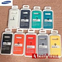Silicone Full Cover Samsung S10 Plus S10Plus S10+ Soft Case Original