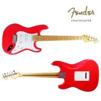 Gitar Listrik Elektrik Fender Stratocaster Custom Red Merah