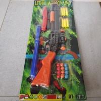 Mainan Senapan Peluru Busa - Pistol Shoot Gun Mainan Anak - Nerf Gun