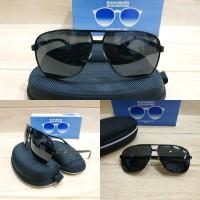 Kacamata sunglases pria art 02 full hitam