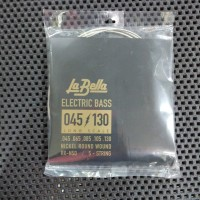 Labella RX-N5D Nickel Round Wound - Senar Bass 5 String 45-130