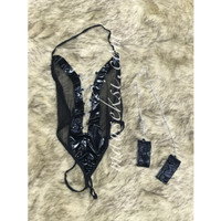 SABINE Sexy Lingerie + Handcuff Borgol Big Size M-XL Cosplay Termurah