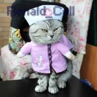 Baju Kucing Cat Funny Halloween Cosplay Size XL Pink