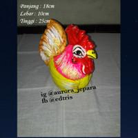 Celengan Ayam Jago