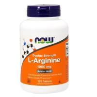 Now Foods, L-Arginine, 1,000 mg, 120 Tablets DISKON