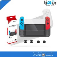 Protective Pack Tempered Glass Case Thumbstick Nintendo Switch