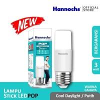Hannochs LED Bulb POP 3 watt - Lampu Bohlam LED Stick POP
