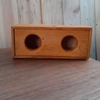 HANDMADE Box audio diy retro style untuk bluetooth speaker 1.7 in 4 cm