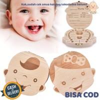 Tokodedee - Baby Tooth Box / Kotak Penyimpanan Untuk Gigi Bayi