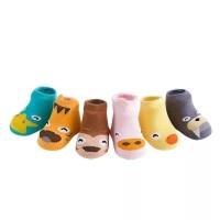 Kaos Kaki 3D Korea Anak Bayi Motif Binatang Lucu Anti Slip