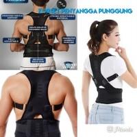back support koset penyangga punggung untuk pria dan wanita