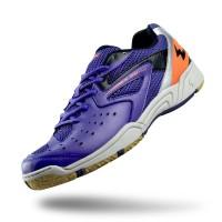 Sepatu Eagle Kevin Biru Tua Oranye – Badminton Shoes - 37