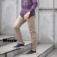 celana chino panjang pria size 27 - 38 kualitas mewah harga murah - Hitam, 27