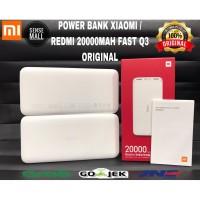 POWER BANK REDMI 20000 MAH 18W FAST CHARGING Q3 ORIGINAL RESMI XIAOMI