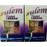 SULEM - Susut Lemak - Botol Ungu 60 kpsl Orginal