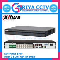 XVR CCTV DAHUA 16 CH SERI XVR5216A-X UP TO 5MP BERGARANSI RESMI