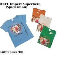 Tshirt LED Import Superhero