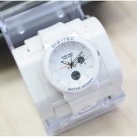 Digitec DG 3083 putih jam tangan ori wanita double time water resist