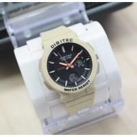 Digitec DG 3083 cream jam tangan ori wanita double time water resist